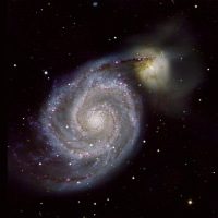 M51 first Light Sternwarte